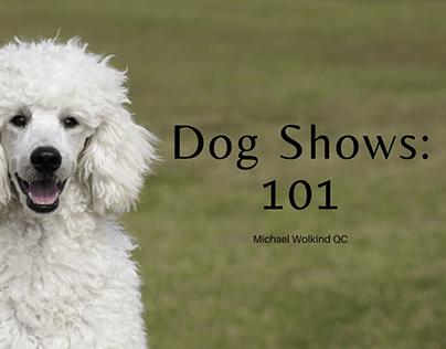 Dog Shows: 101