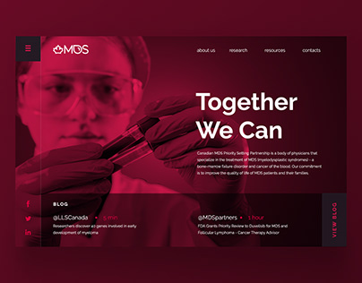 MDS - Cancer Research Speciality | Branding