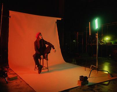 Studio session w/ Maya