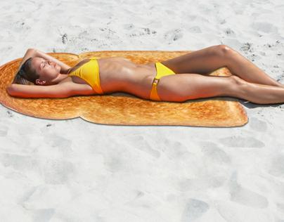 Serviette de plage (Beach towel)