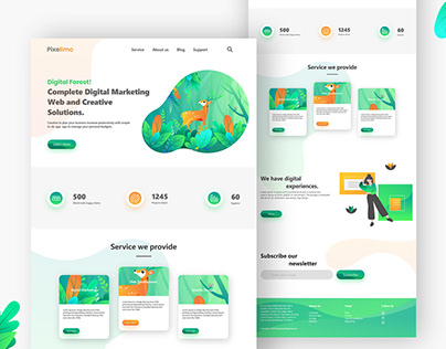 Website for Digital Marketing agency
