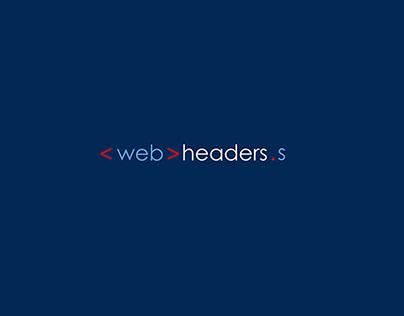 Web Headers