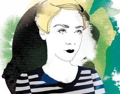 Portrait series for Telegraph's Stella magazine