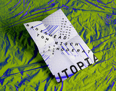 Utopia - Electronic music festival - Student project