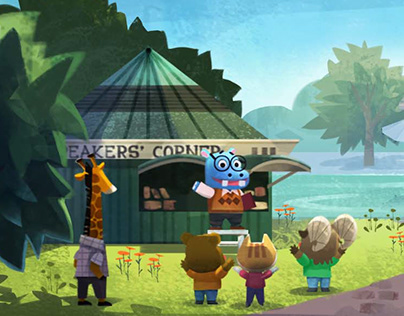 Juice Jam-In game background