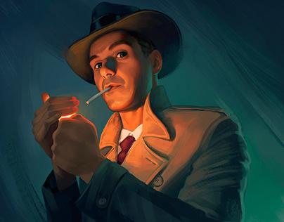 1950s Detective