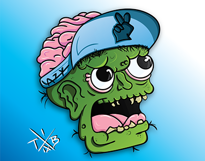 Zombie Boy (ilustracja, projekt postaci)