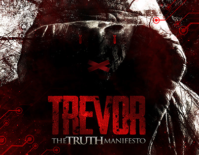 "TREVOR ""The Truth Manifesto"" CD artwork"