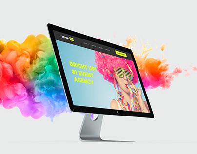 Bright Up website design