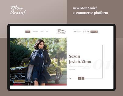 MonAmie! - e-commerce platform