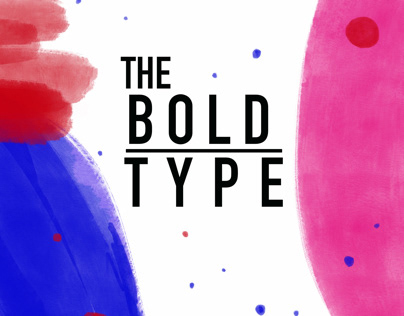 The Bold Type l Editorial Illustration