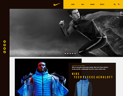 Nike- Web Concept/Prototype