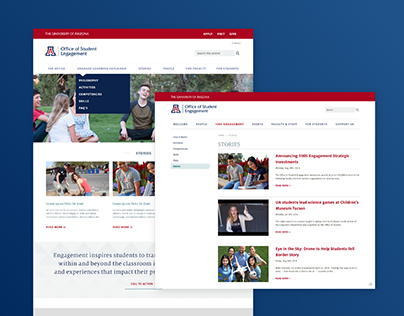 Office of Student Engagement Website