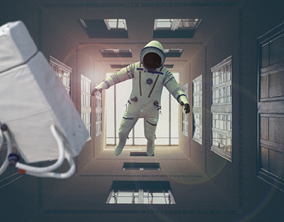 Alone in space   After Effects