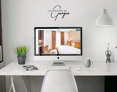 Webdesign - Les Maisons de Georges - Hotels Paris