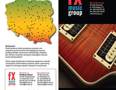 FX brochure & flyers / ulotki