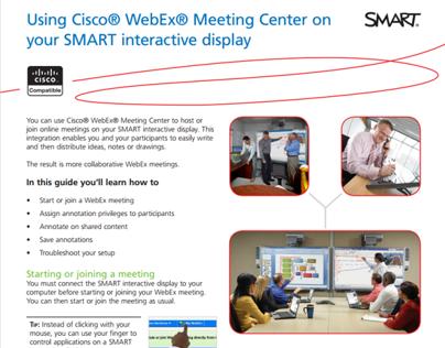 Job aid: Using Cisco WebEx Meeting Center...