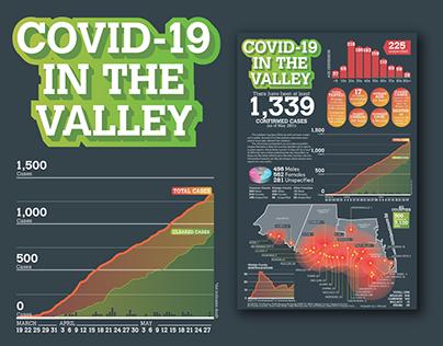 Rio Grande Valley COVID-19 Infographic
