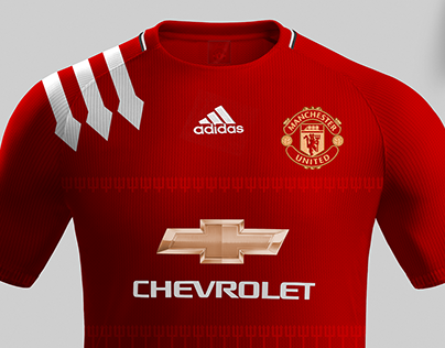 classic fit aa89d 1a4b5 Manchester United 17/18 Kit on Behance