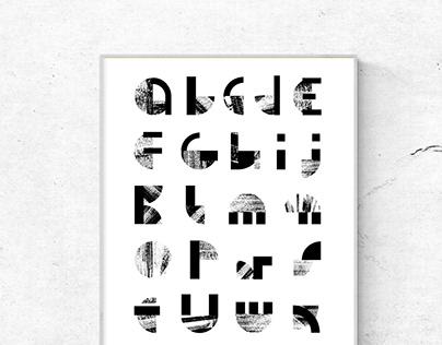 Spatial alphabet | poster