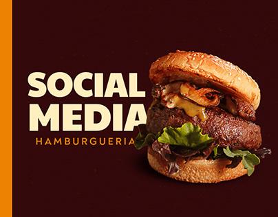 Social Media - Hamburgeria