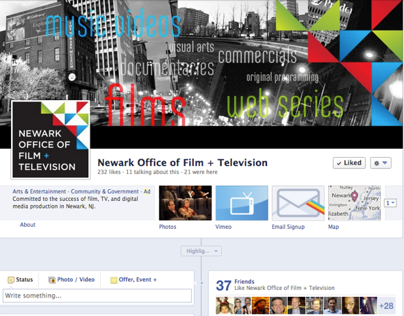Social Media: Newark Office of Film + TV