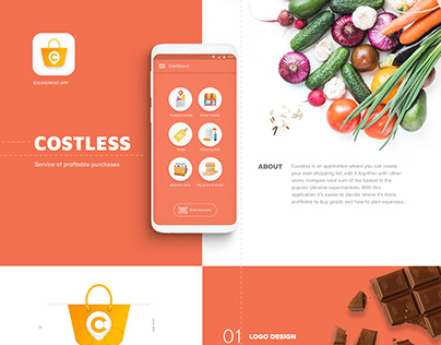 Grocery Shopping App Costless Android & iOS
