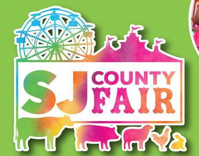 San Joaquin County Fair Logo Redesign & Collateral
