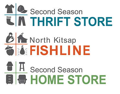 North Kitsap Fishline Food Bank Branding