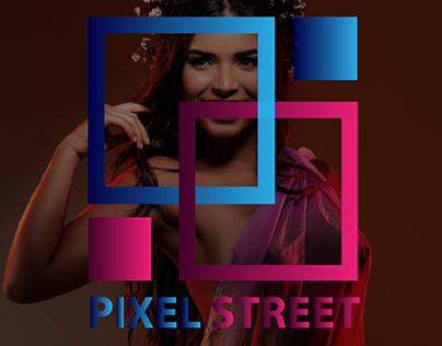 logo design for PIXEL STREET❤
