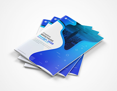 Unique Bi-Fold Brochure Template