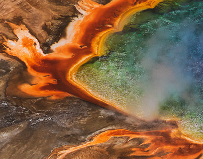PROJECT #44 GRAND PRISMATIC SPRING