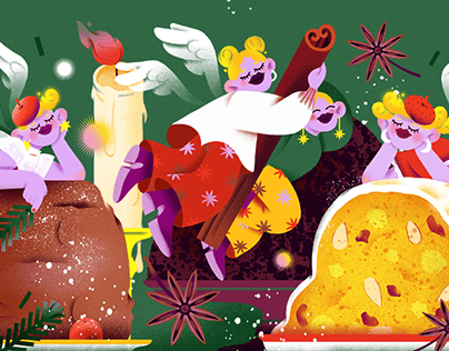 Season's Dessert Greetings