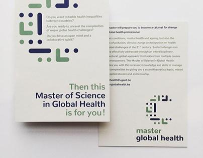 Corporate Identity 'Master Global Health'