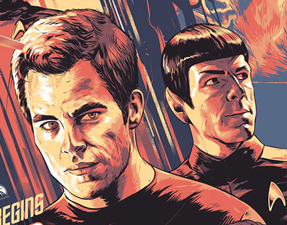 Star Trek 2009 poster - Private comission