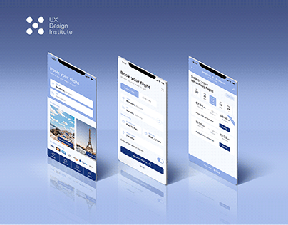 Airline mobile app - UX Design