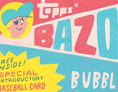 Vintage Bazooka Gum