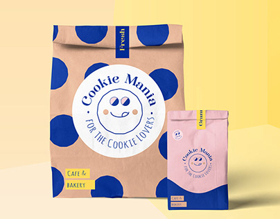 Bakery and cafe Brand identity, logo, packing showcase