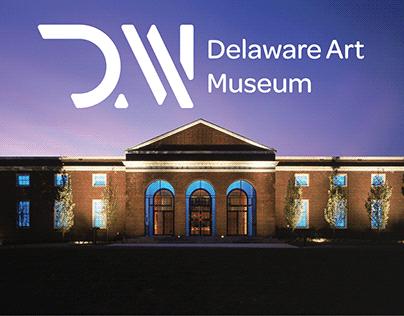 Delaware Art Museum Logo Concept