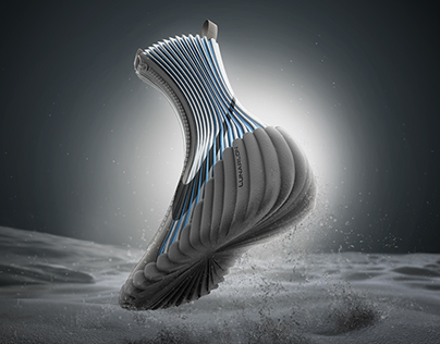 Nike Moonwalker - A Space Boot Concept