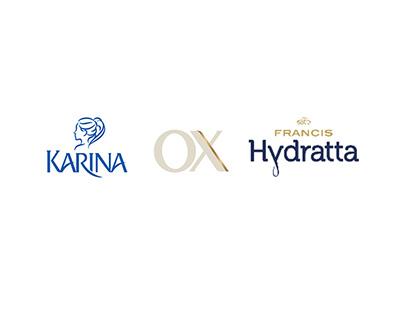 Karina, OX e Francis Hydratta