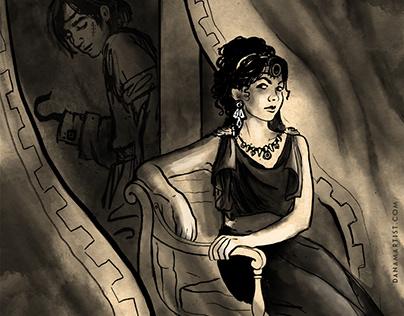 Inktober, Favorite Book Characters - Part 2