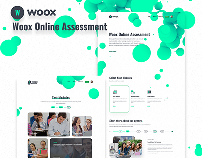 Woox Online Assessment web site