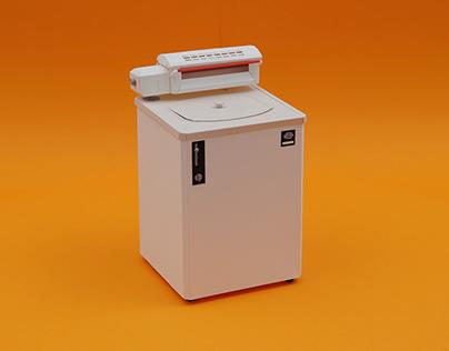 Arçelik Vintage Washing Machine