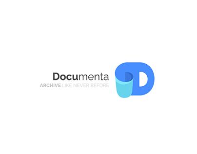 Documenta Logo Design