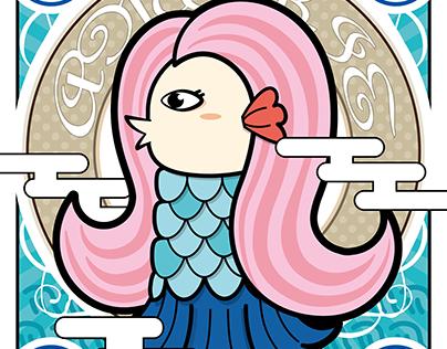Illustration/ アマビエ AMABIE