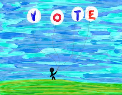 #kite #voter