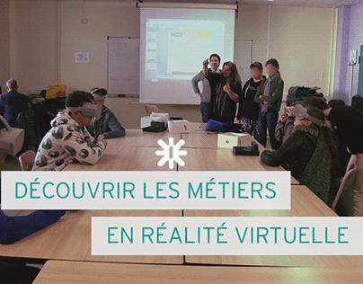 Ateliers de réalité virtuelle