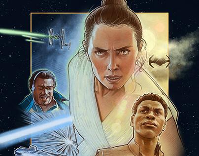 Star Wars The Rise of Skywalker alternate movie poster