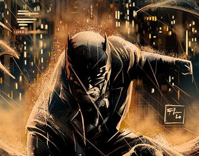 Batman Macabre - Comic Book Illustration